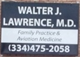 Walter J Lawrence, MD