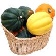 Acorn squash with dates
