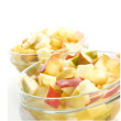 Apple hazelnut salad