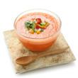 Apricot gazpacho
