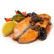Broiled grouper with teriyaki sauce