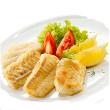 Broiled sesame cod