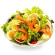 Edamame shrimp salad
