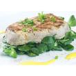 Heart-healthy Asian tuna steak