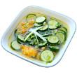 Hearty zucchini soup