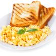 Jalapeno scrambled eggs