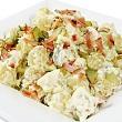 King crab and potato salad