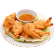 Lemon coconut shrimp with chicken