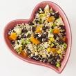 Mango black bean quinoa