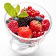Norwegian berry pudding