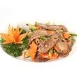 Orange-scented beef stir-fry