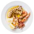 Pan-braised swordfish with feta