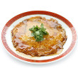Ramen noodle egg foo yung
