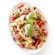 Salmon and pasta salad