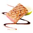 Teriyaki grilled tuna steaks