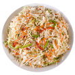 Wasabi coleslaw
