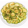 Zucchini and Parmesan salad