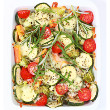 Zucchini cornbread casserole