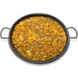 Zucchini paella